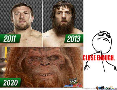 Daniel Bryan No Meme - evolution of daniel bryan by shasha tasya 9 meme center
