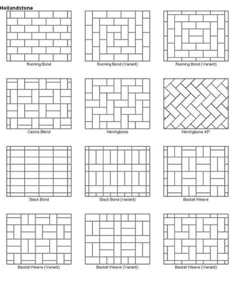 tile pattern running bond 42 best images about tile patterns on pinterest