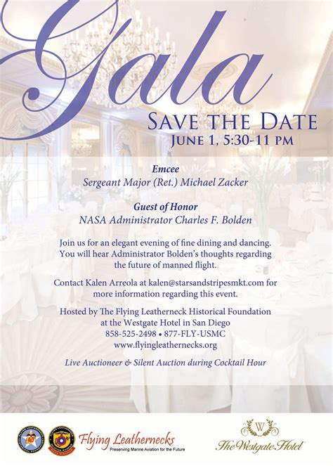 Save The Date Event Card Templates by Save The Date Gala Search Invitations