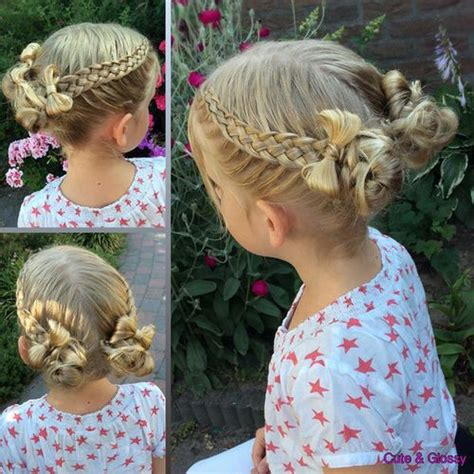 Blonde Braided Hair Bands