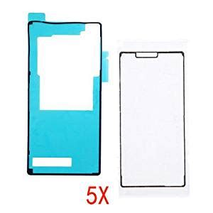 Waterproof Adhesive Lcd Xperia Z5 Original 5x waterproof sticker lcd frame back cover adhesive sticker for sony xperia z3 in