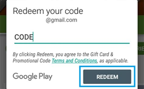 Gift Card Codes For Google Play Store - how to redeem google play gift cards on abdroid phone or pc