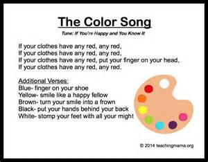 song titles with colors canciones mi peque 241 o mundo
