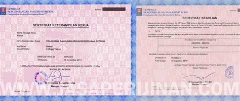 membuat cv badan usaha sertifikasi barang dan jasa bimtek dan ujian sertifikasi