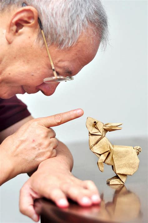 Working Origami - amazing origami work designer daily graphic and web
