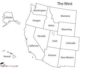 printable map of the western united states sundays silly superficial stories part 1 have powerpoint