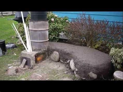 backyard rocket stove rocket stove outdoor system bbq oven boiler mass