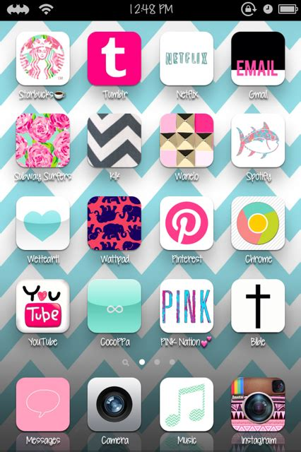 tumblr themes apps cute iphone themes homescreen