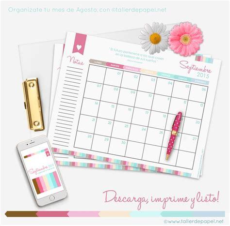 K Es El Calendario M 225 S De 1000 Ideas Sobre Planificador Mensual En