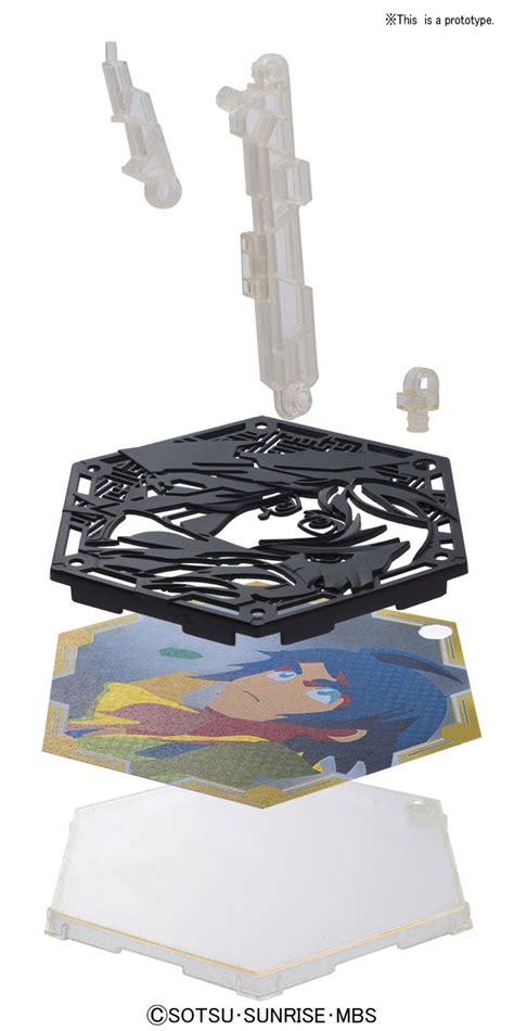 Bandai Character Stand Plate Kud bandai hobby character stand plate orga quot gundam iron