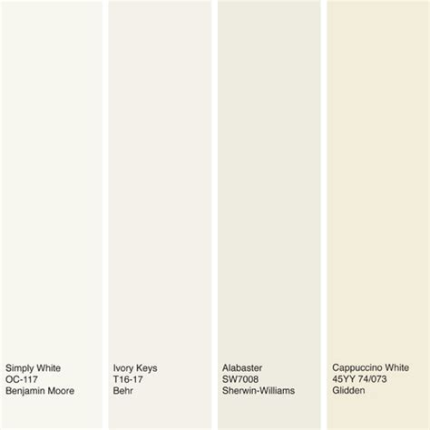 what color will go with alabaster white