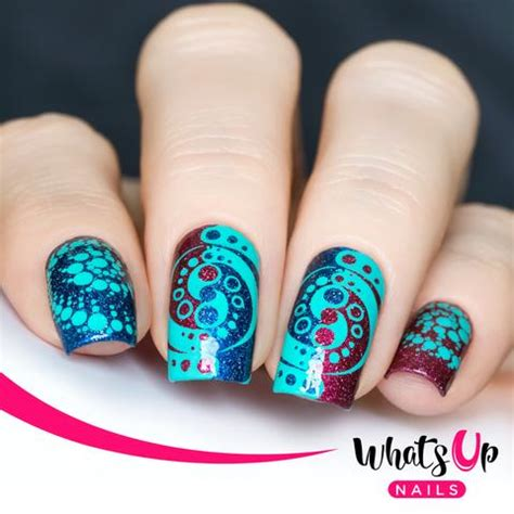 whats new in nail styles whats up nails b011 intergalactic encounters whats up