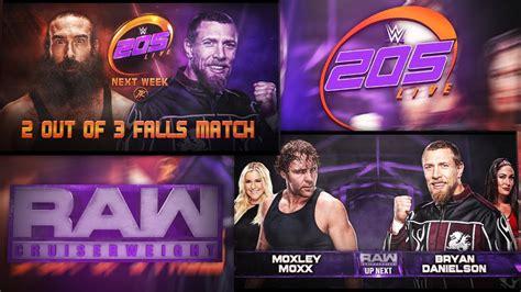 205 live match card template 205 live y cruiserweight 2017 remake match