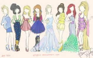 disney fashion ellphie deviantart