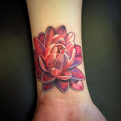 red lotus tattoo lotus flower meaning ink vivo