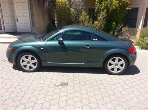 Audi Tt Baujahr 2000 by Sell Used 2000 Audi Tt Quattro Awd Green 5sp Priced To