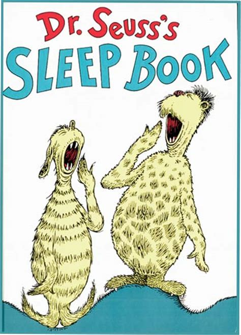libro dr seusss sleep book dr seuss s sleep book seuss dr seuss