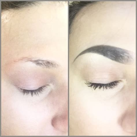tattooed eyebrows scabbing eyebrow tattoo scabbing tattoo collections