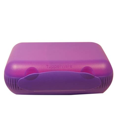 Tupperware Lunch Box Pink tupperware purple pink plastic lunch box buy at