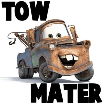 Bumper 3d Karakter Disney how to draw tow mater from disney cars how to draw