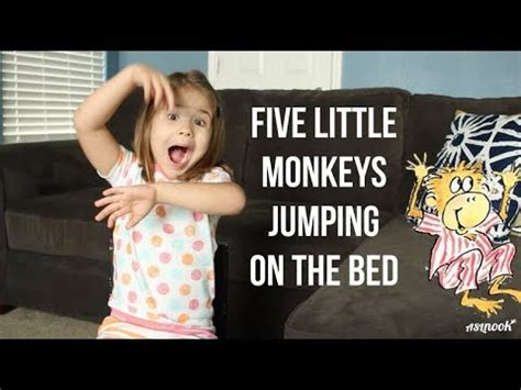 five little monkeys jumping on the bed youtube asl nook 5 little monkeys jumping on the bed youtube