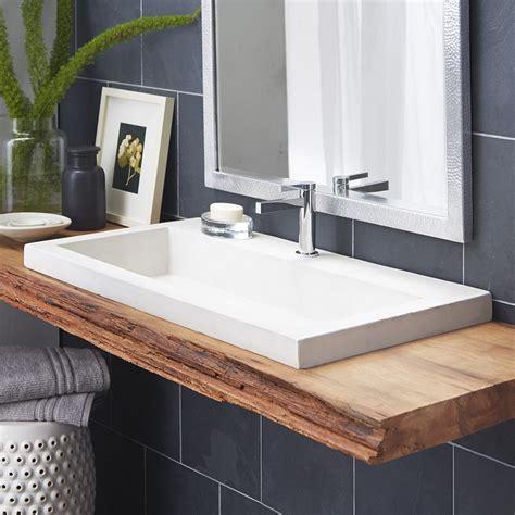 bathroom sink ideas trough rectangular drop in bathroom sink conover place bathroom sink floating