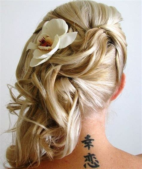 Wedding Hairstyles To The Side With Flower by 40 Gorgeous Wedding Hairstyles For Hair