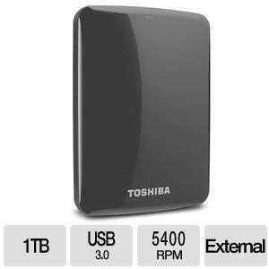 portable usb hard drives canvio connect hdtc710xk3a1 toshiba canvio 174 connect 1tb portable hard drive usb 3 0
