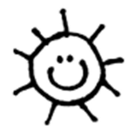 Sun Black Outline by Sun Outline Clipartion