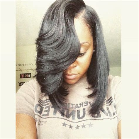 short feather sew in weave hairstyles pictures 3519 best hair styles images on pinterest make up looks