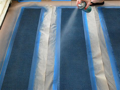 painted sisal rug how to paint a cottage style sisal rug how tos diy