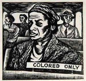 colored only elizabeth catlett black and white