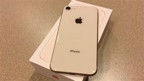 iphone  gold unboxing  impressions youtube