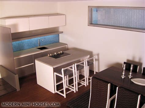 Modern Mini Houses Dolls House Kitchen Furniture