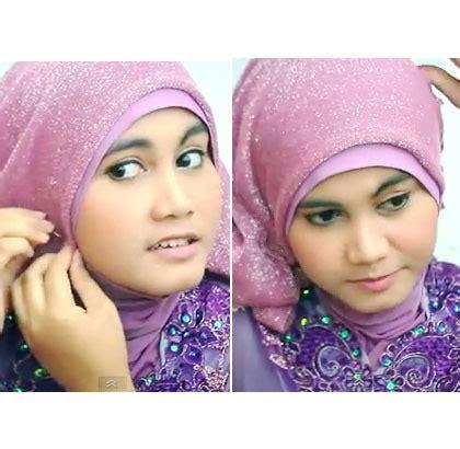 tutorial hijab kebaya kartini tutorial hijab dengan scarf bergliter dan kebaya di hari