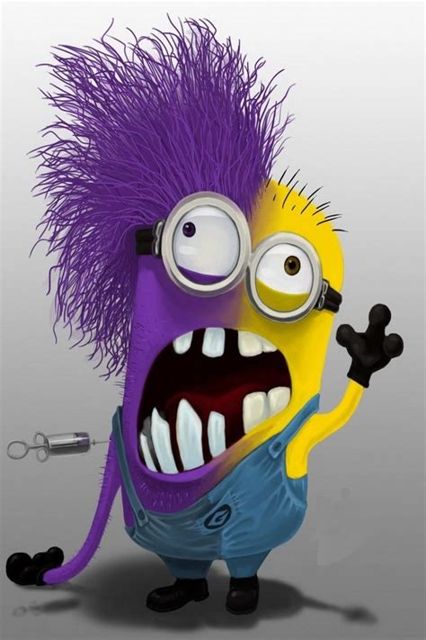 Half Evil, Half Good Minion   Despicable me   Pinterest   Minions