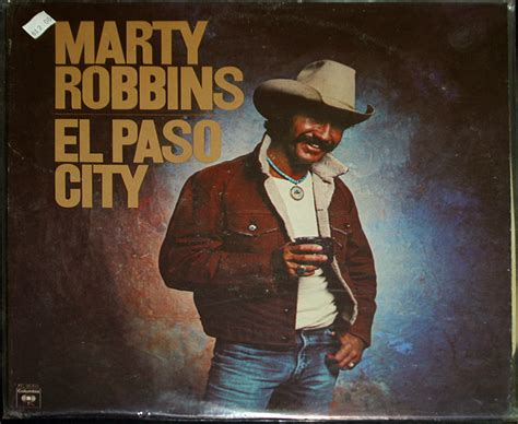 Records El Paso Marty Robbins Quot El Paso City Quot Lp Records