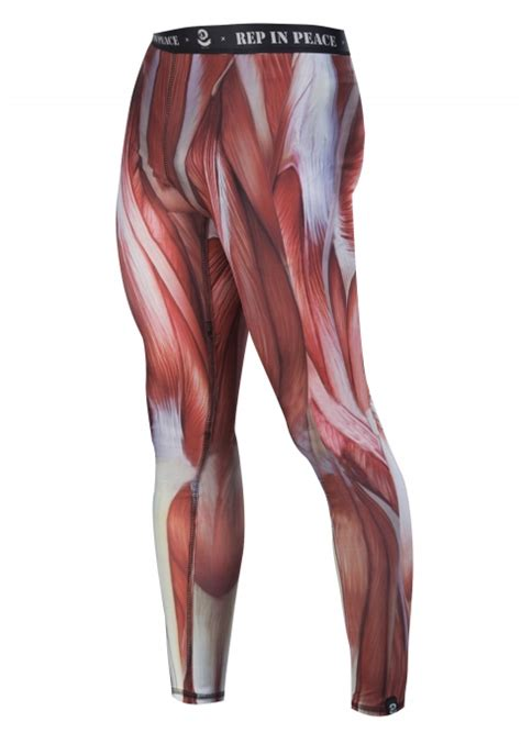 muscle pattern running tights men s sport tights pure muscle 1103 www repinpeace com