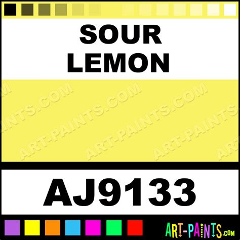 sour lemon iridescent watercolor paints aj9133 sour lemon paint sour lemon color american