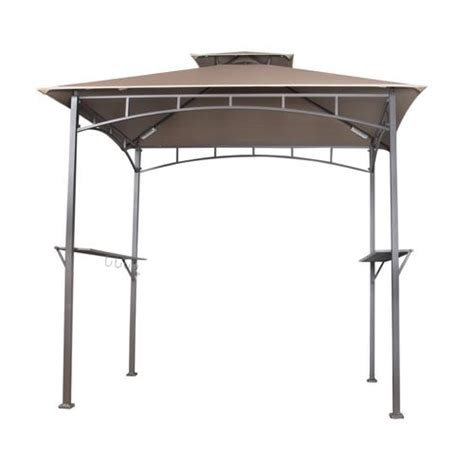 Backyard Creations Grill Backyard Creations 174 Soft Top Grill Gazebo With Led Lights