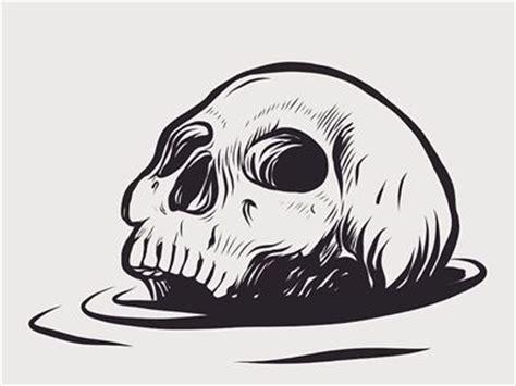 doodle skull meaning de 25 bedste id 233 er inden for skull illustration p 229
