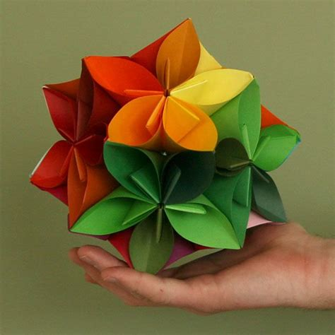Japanese Flower Origami - origami flowers japanese
