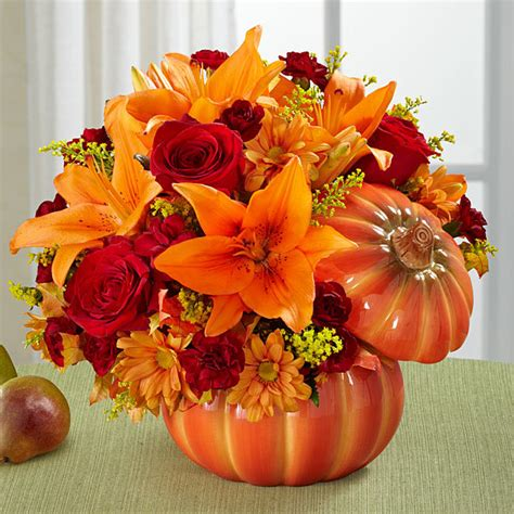 Fall Wedding Flower Arrangement by Autumn Flower Arrangements And Centerpieces Are Here