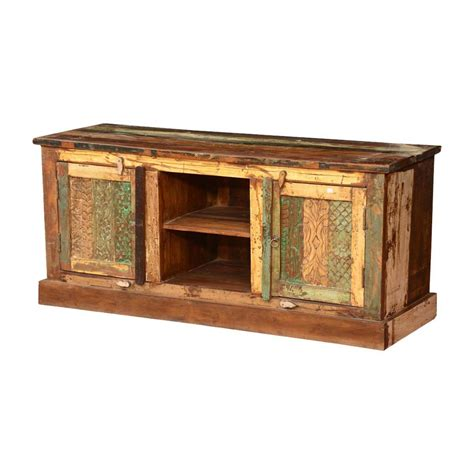 pioneer console price pioneer rustic reclaimed wood tv console entertainment