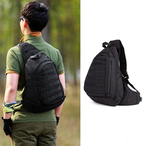 Backpack Set 4 In 1 new field tactical chest sling pack outdoor sport one single shoulder big large ride travel