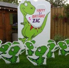 Dinosaur Lawn Decorations by 1000 Images About Birthday Ideas On Lawn