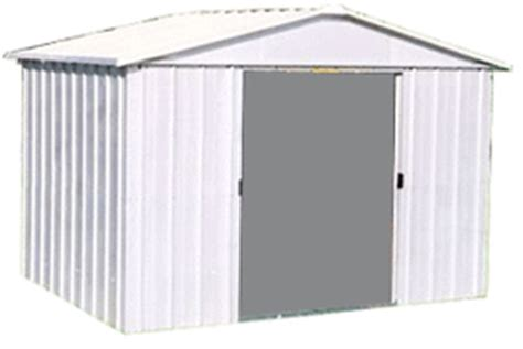 Metal Tool Sheds by Metal Sheds Vs Wooden Sheds What Is The Best Type To Buy