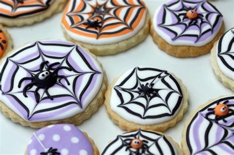 How To Make Decorated Cookies by How To Make A Spider Web Decorated Cookie