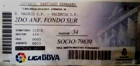 entradas valencia real madrid 2015 entrada futbol real madrid valencia 2015 adio comprar