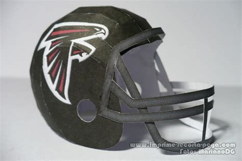 Papercraft Helmet - falcons nfl helmet papercraft by dil1880 on deviantart